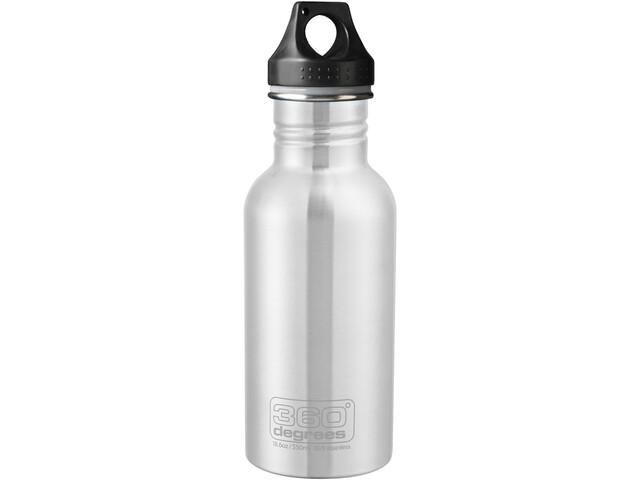 360° degrees Stainless Drink Bottle 500ml, steel